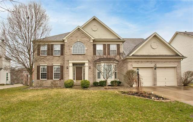 5729 Fairbourne Court, Carmel, IN 46033 (MLS #21774189) :: The Indy Property Source