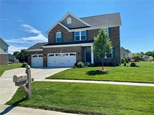 1827 Windborne Lane, Greenwood, IN 46143 (MLS #21774193) :: Mike Price Realty Team - RE/MAX Centerstone