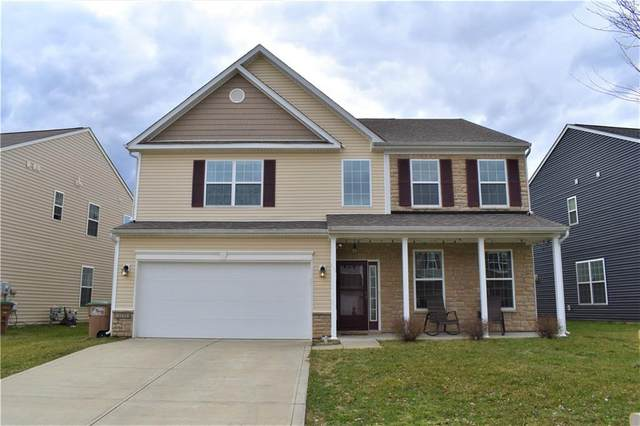 2125 Lakecrest Drive, Columbus, IN 47201 (MLS #21774212) :: The Indy Property Source