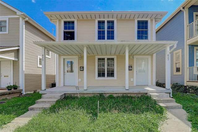 825-827 Camp Street, Indianapolis, IN 46202 (MLS #21774225) :: The Indy Property Source
