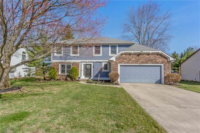 9924 Beam Ridge Drive, Indianapolis, IN 46256 (MLS #21774281) :: Ferris Property Group
