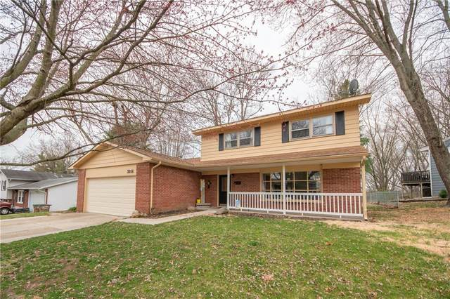 3014 Fairlawn Drive, Columbus, IN 47203 (MLS #21774333) :: The Evelo Team