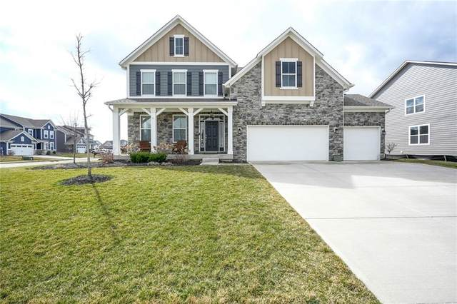 10557 Endicott Way, Fishers, IN 46040 (MLS #21774356) :: The Indy Property Source