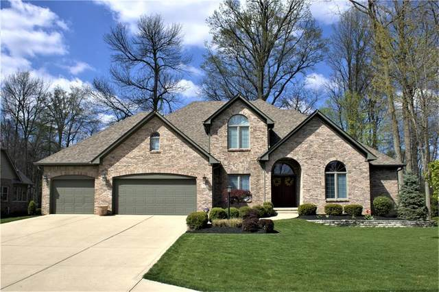 7612 Williamswood Drive, New Palestine, IN 46163 (MLS #21774396) :: The Indy Property Source