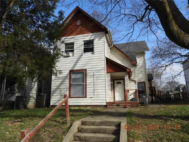 2314 E 12th Street, Indianapolis, IN 46201 (MLS #21774404) :: Anthony Robinson & AMR Real Estate Group LLC