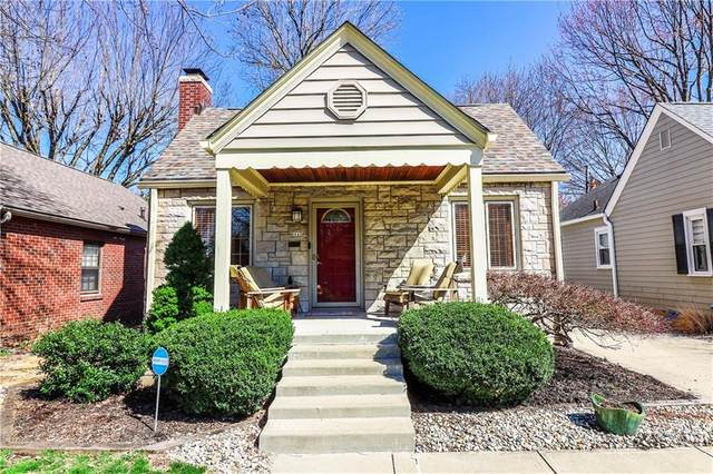6045 Haverford Avenue, Indianapolis, IN 46220 (MLS #21774439) :: The Evelo Team