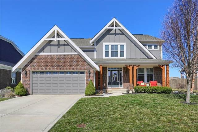 6384 W Clearview Drive, Mccordsville, IN 46055 (MLS #21774446) :: Anthony Robinson & AMR Real Estate Group LLC