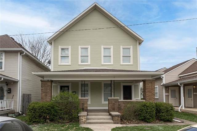 822 Camp Street, Indianapolis, IN 46202 (MLS #21774460) :: The Indy Property Source