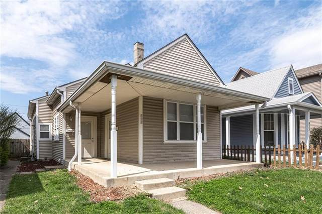 828 Camp Street, Indianapolis, IN 46202 (MLS #21774462) :: The Indy Property Source