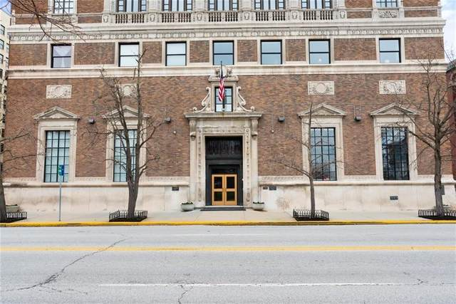 350 N Meridian Street #409, Indianapolis, IN 46204 (MLS #21774493) :: Mike Price Realty Team - RE/MAX Centerstone