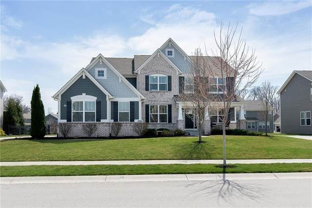 14913 Dennison Drive, Fishers, IN 46037 (MLS #21774589) :: The Evelo Team