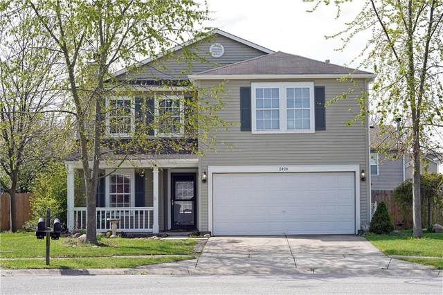 2426 Woodmont Court, Plainfield, IN 46168 (MLS #21774593) :: The Indy Property Source