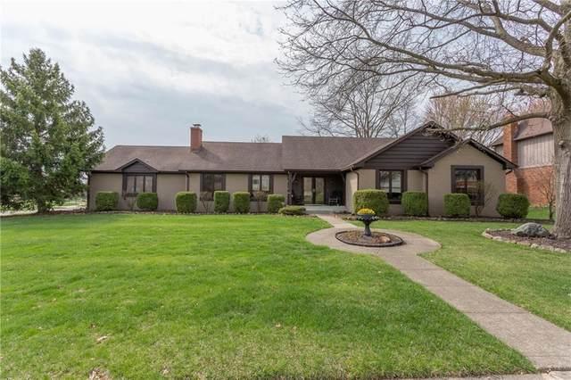1291 W Ironwood Drive, Carmel, IN 46033 (MLS #21774679) :: Dean Wagner Realtors
