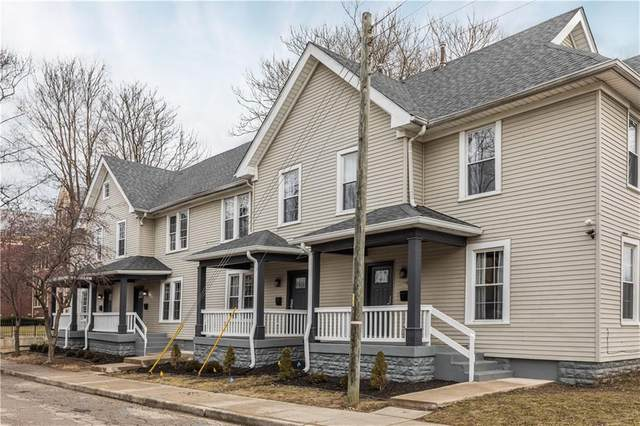 1101 Sterling Street, Indianapolis, IN 46201 (MLS #21774743) :: The Indy Property Source