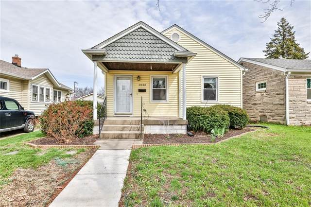 1022 Cameron Street, Indianapolis, IN 46203 (MLS #21774775) :: The Evelo Team