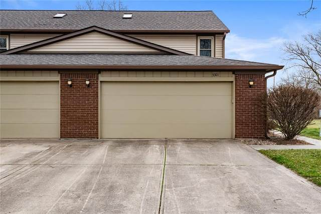 5301 Cotton Bay Drive W, Indianapolis, IN 46254 (MLS #21774798) :: The Indy Property Source