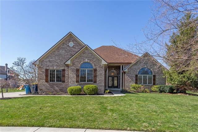 13436 Water Crest Drive, Fishers, IN 46038 (MLS #21774818) :: The Indy Property Source