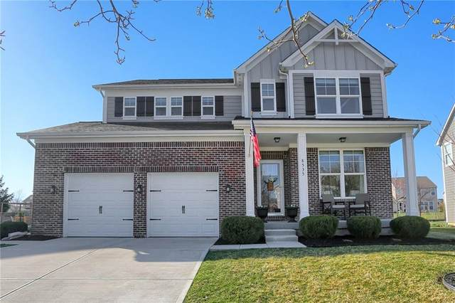 8535 New Heritage Drive, Indianapolis, IN 46239 (MLS #21774871) :: The Indy Property Source