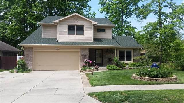 490 Old Hickory Lane, Greenwood, IN 46142 (MLS #21774882) :: The Evelo Team