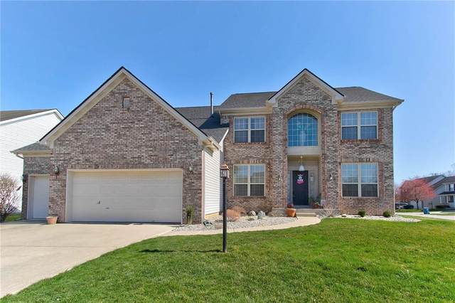 13501 Stone Haven Drive, Carmel, IN 46033 (MLS #21774891) :: The Evelo Team