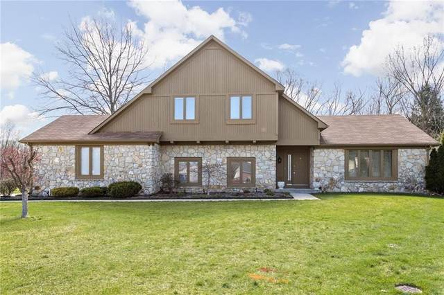 8903 Alibeck Court, Indianapolis, IN 46256 (MLS #21774925) :: The Evelo Team