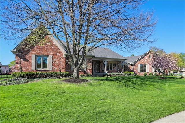 3911 Kitty Hawk Court, Carmel, IN 46033 (MLS #21774992) :: The Evelo Team