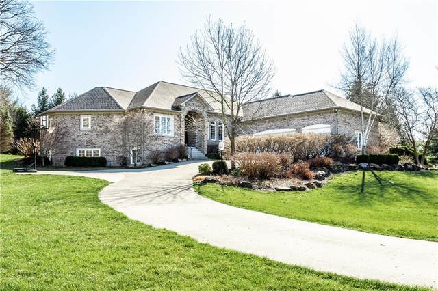 6219 White Tail Circle, Zionsville, IN 46077 (MLS #21775047) :: Mike Price Realty Team - RE/MAX Centerstone