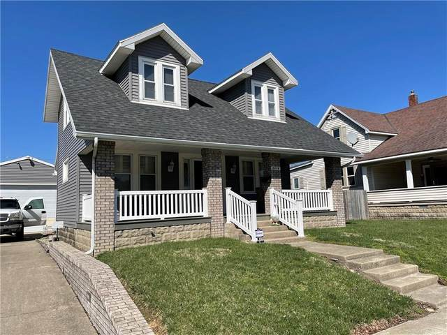 2414 Main Street, Elwood, IN 46036 (MLS #21775063) :: The Indy Property Source