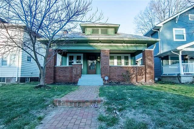 3408 N College Avenue, Indianapolis, IN 46205 (MLS #21775187) :: RE/MAX Legacy