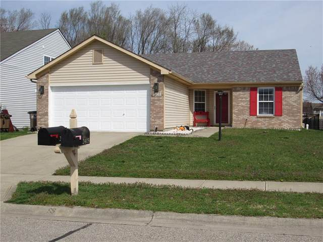 2420 Lakecrest Drive, Columbus, IN 47201 (MLS #21775237) :: Mike Price Realty Team - RE/MAX Centerstone