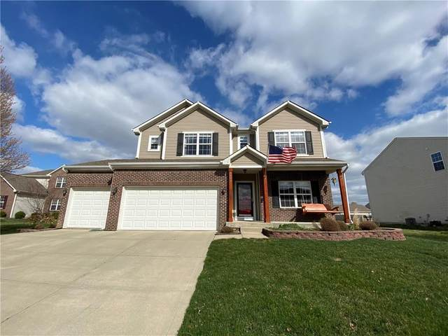 1683 Cape Hatteras Trail, Brownsburg, IN 46112 (MLS #21775298) :: Mike Price Realty Team - RE/MAX Centerstone
