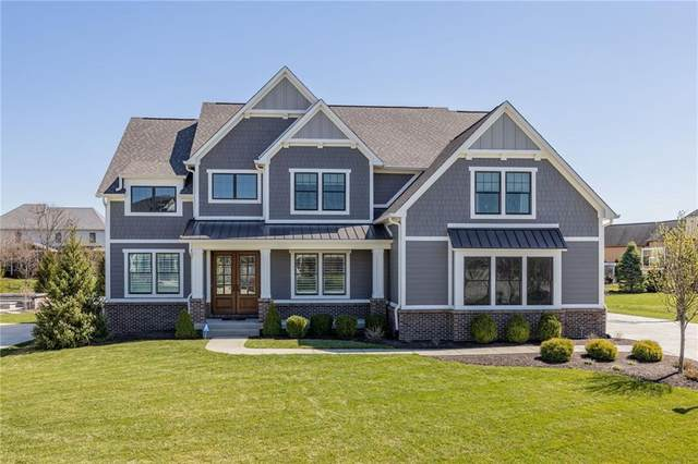 10189 Timberland Drive, Fishers, IN 46040 (MLS #21775310) :: The Evelo Team