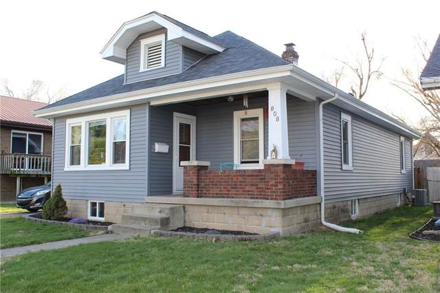 808 Central Place, Columbus, IN 47201 (MLS #21775337) :: Heard Real Estate Team | eXp Realty, LLC