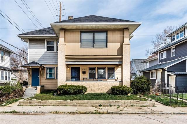 216 W 31ST Street, Indianapolis, IN 46208 (MLS #21775357) :: Anthony Robinson & AMR Real Estate Group LLC