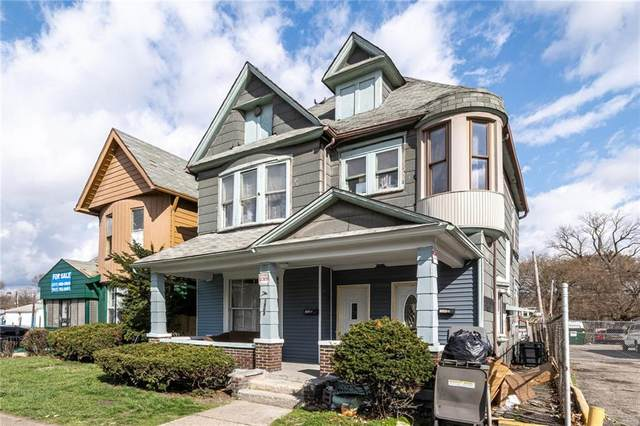 1808 E Washington Street, Indianapolis, IN 46201 (MLS #21775358) :: The Indy Property Source