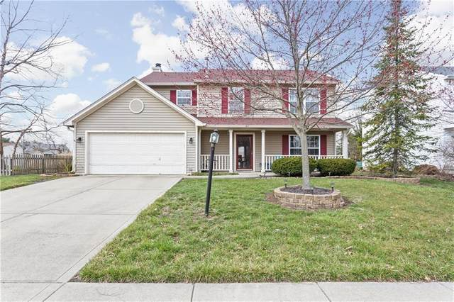 12824 Sweet Briar Parkway, Fishers, IN 46038 (MLS #21775381) :: The Evelo Team