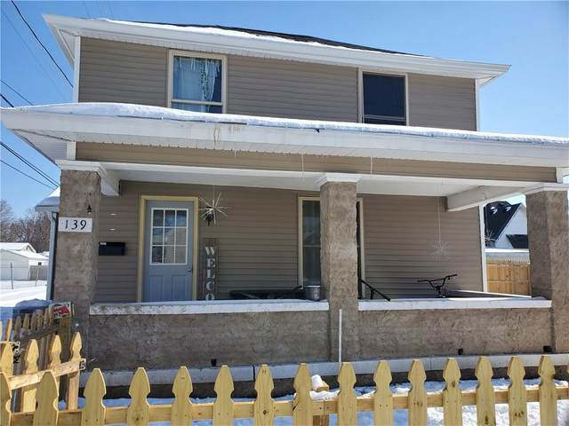 139 N Colfax Street, Martinsville, IN 46151 (MLS #21775401) :: The Indy Property Source