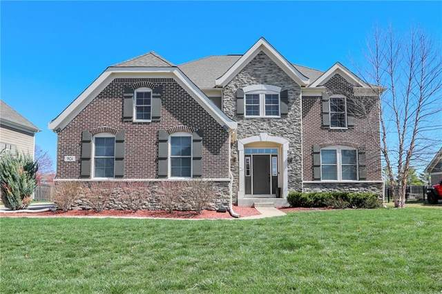 9824 Soaring Eagle Lane, Fishers, IN 46055 (MLS #21775403) :: Anthony Robinson & AMR Real Estate Group LLC