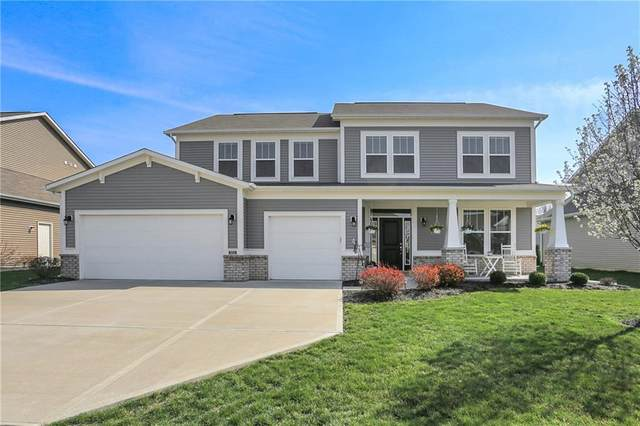 5733 Masuran Court, Plainfield, IN 46168 (MLS #21775428) :: The Indy Property Source