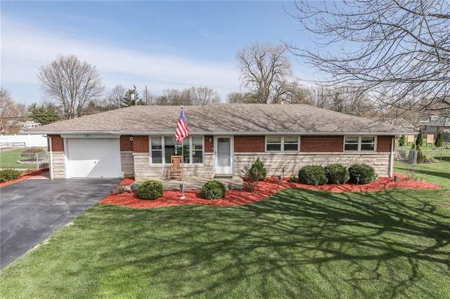 4216 Knoll Top Drive, Indianapolis, IN 46237 (MLS #21775552) :: The Evelo Team