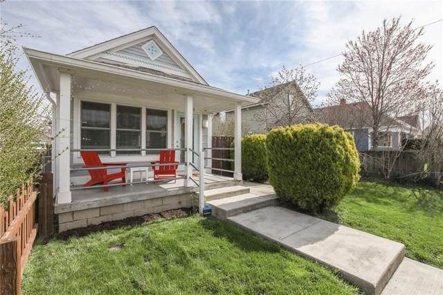 1026 Elm Street, Indianapolis, IN 46203 (MLS #21775611) :: The Indy Property Source