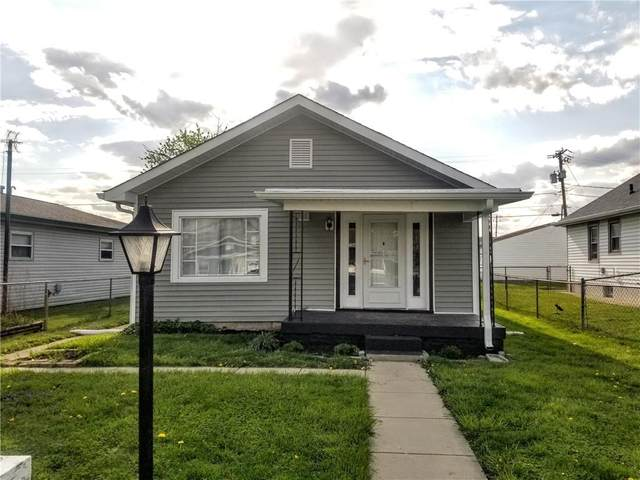 58 S 2ND Avenue, Beech Grove, IN 46107 (MLS #21775612) :: The Indy Property Source