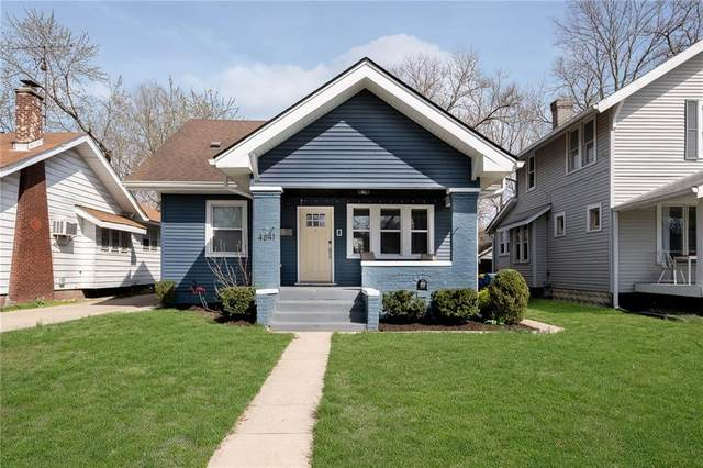 4841 Guilford Avenue, Indianapolis, IN 46205 (MLS #21775613) :: Richwine Elite Group