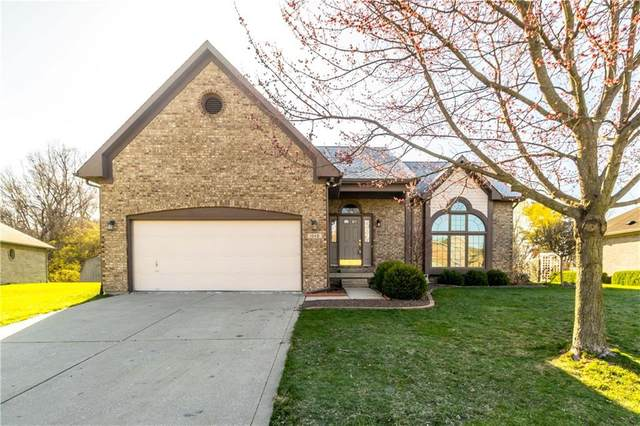 1049 New Harmony Drive, Indianapolis, IN 46231 (MLS #21775668) :: The Evelo Team