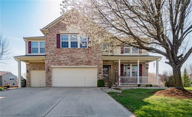 9320 N Storm Bay Circle, Mccordsville, IN 46055 (MLS #21775677) :: The Indy Property Source