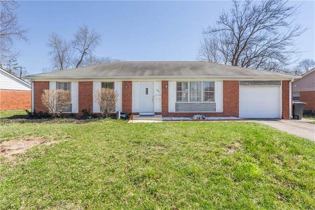 1917 N Schwier Drive, Indianapolis, IN 46229 (MLS #21775710) :: The Evelo Team