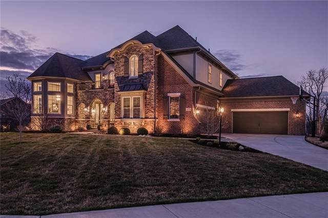 14374 Overbrook Drive, Carmel, IN 46074 (MLS #21775722) :: Ferris Property Group