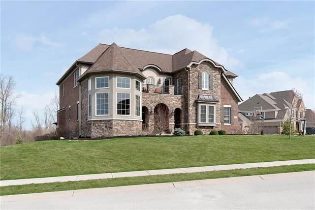 14374 Overbrook Drive, Carmel, IN 46074 (MLS #21775722) :: Richwine Elite Group
