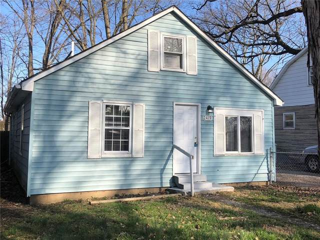 2419 S Lyons Avenue, Indianapolis, IN 46241 (MLS #21775818) :: Anthony Robinson & AMR Real Estate Group LLC