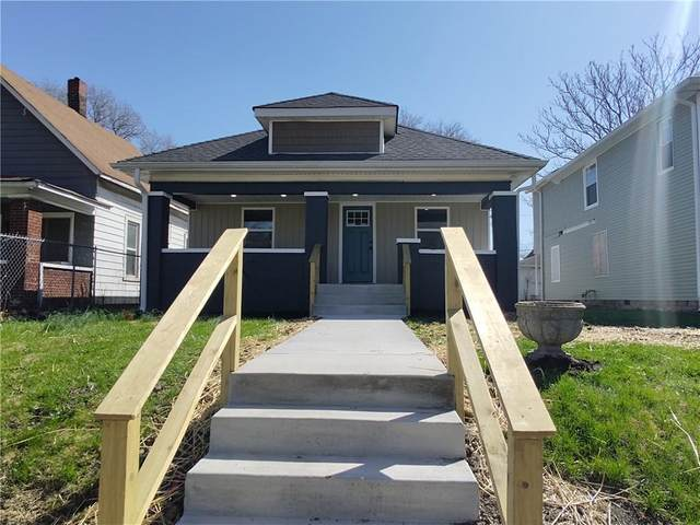 1343 N Gale Street, Indianapolis, IN 46201 (MLS #21775883) :: The Indy Property Source